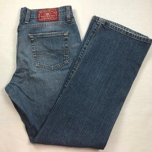 LUCKY BRAND Rider Fit Straight Jeans in Ol Mystic